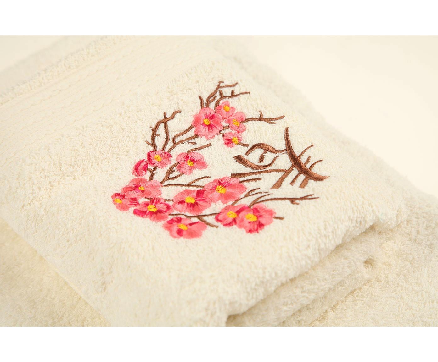 Комплект махровых полотенец 2 предмета