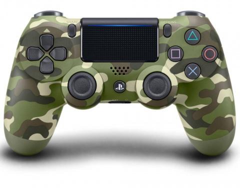 все цены на Геймпад Sony DualShock 4 Ver.2 (зеленый камуфляж) онлайн