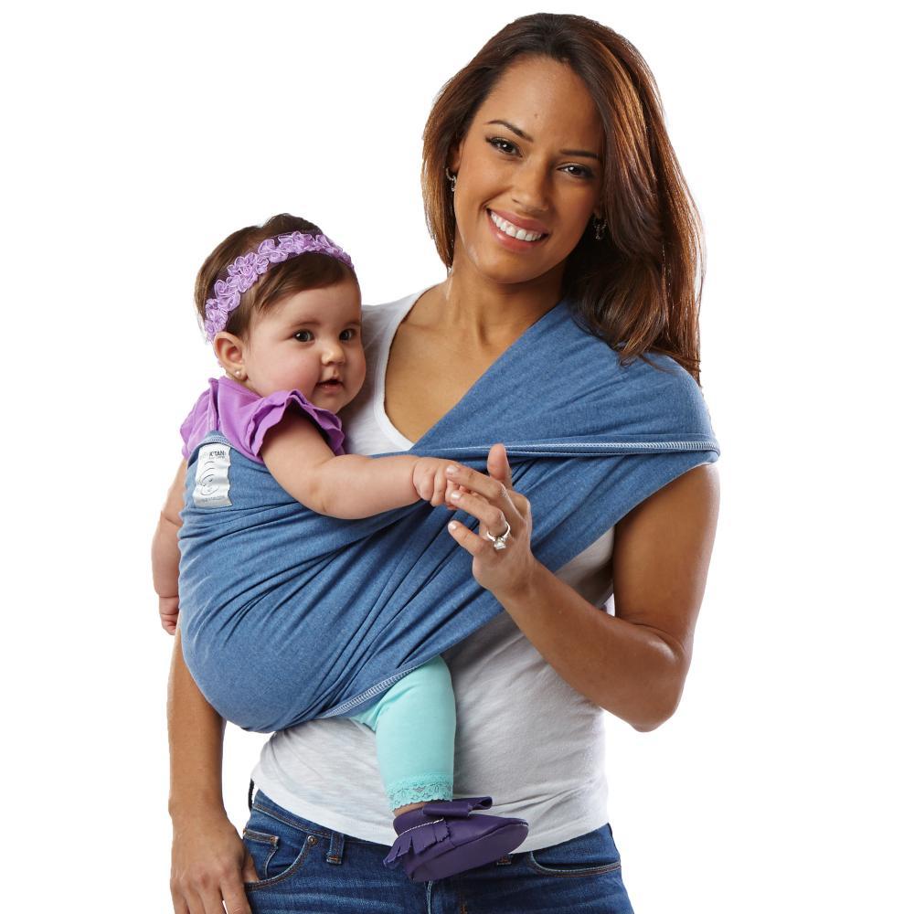 Baby Ktan переноска детская цвет деним (синий) размер S