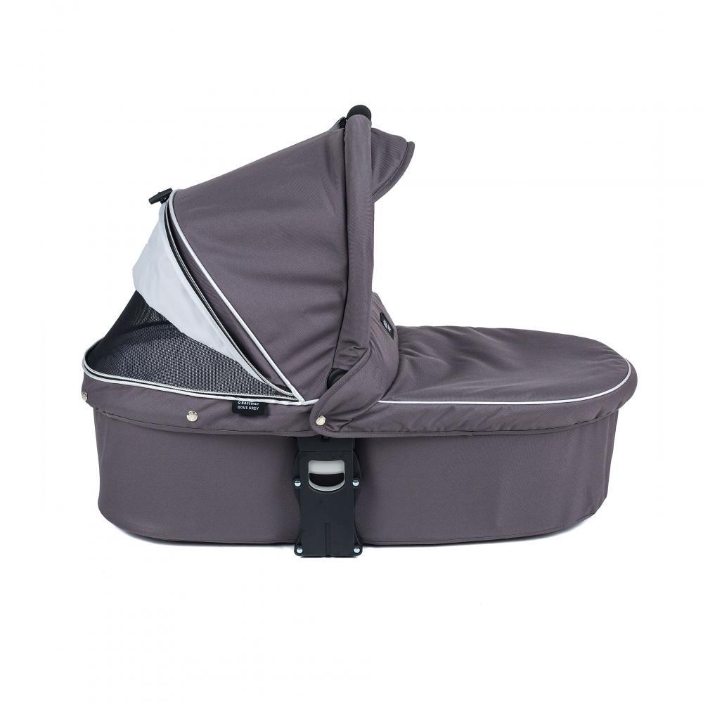 Valco baby Люлька Q Bassinet для Trimod X, Snap 4 Ultra, Quad X / Dove Grey цена