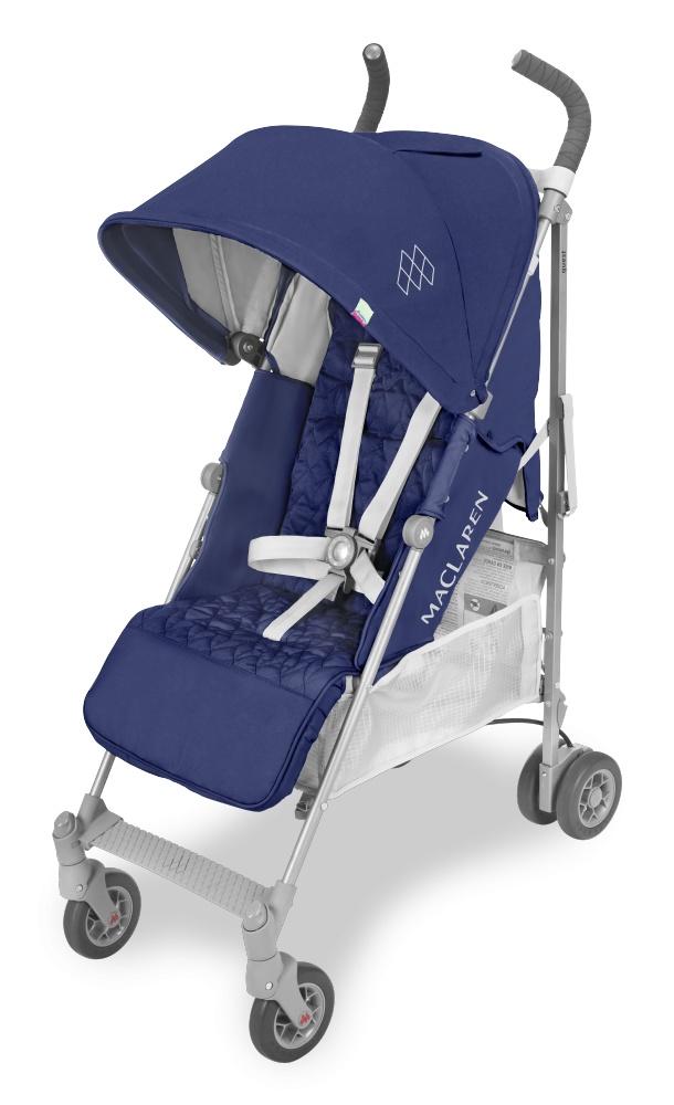 Maclaren коляска прогулочная QUEST Blue/Silver 2018