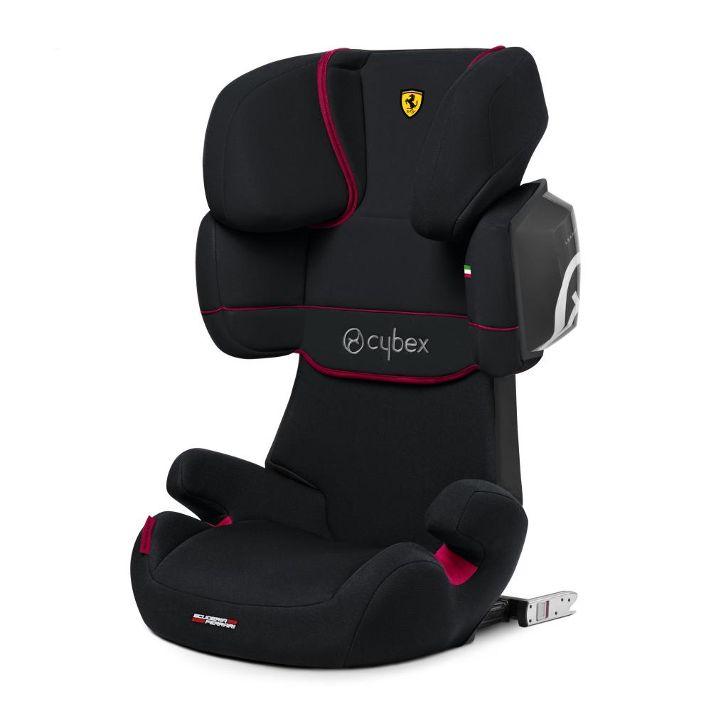 Cybex Автокресло Solution X2-Fix FE Ferrari Victory Black