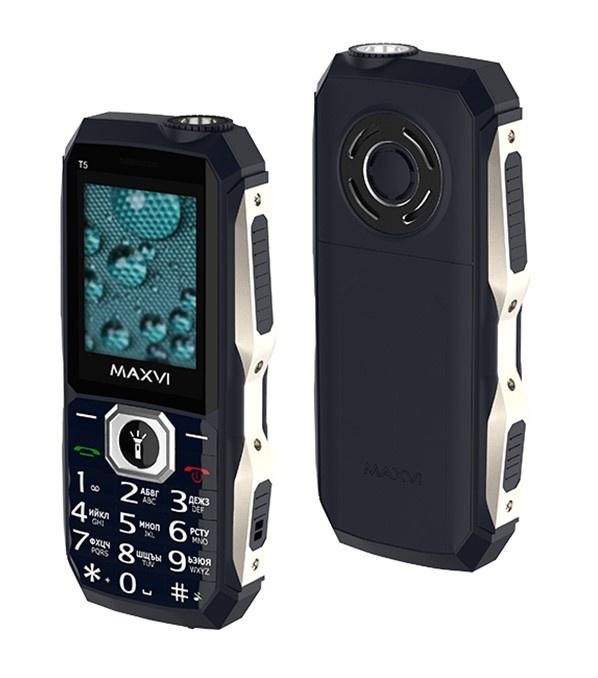 Мобильный телефон MAXVI Т5 Dark Blue
