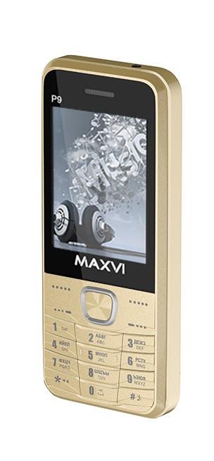 Мобильный телефон MAXVI P9 Gold телефон huawei p9
