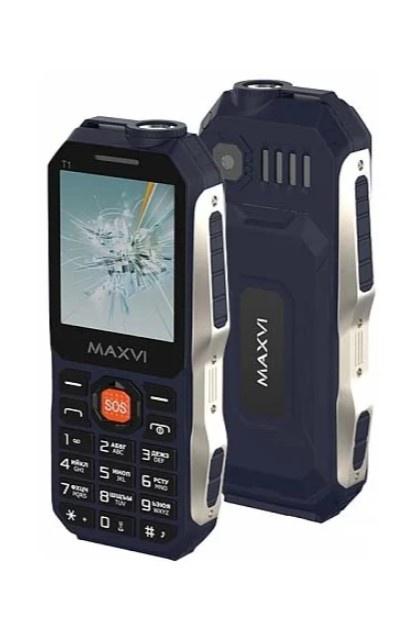 Мобильный телефон MAXVI T1 Blue цена