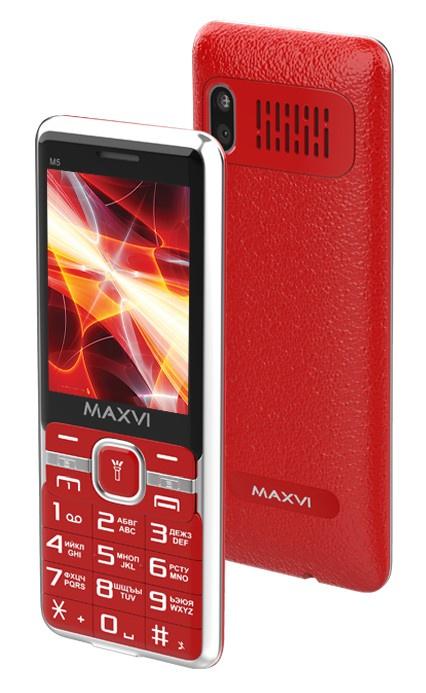Мобильный телефон MAXVI M5 Red