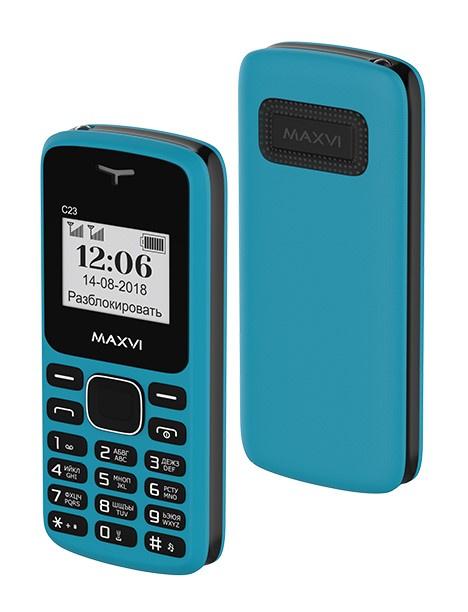 Мобильный телефон MAXVI C23 Blue-black цена