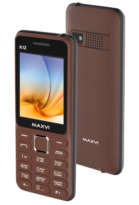 Мобильный телефон MAXVI K12 Coffee телефон
