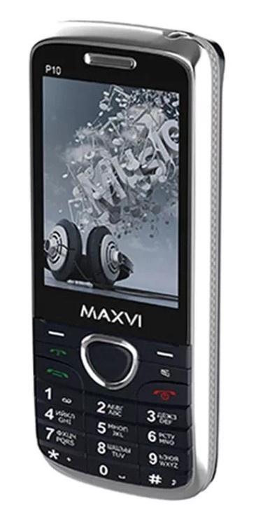 Мобильный телефон MAXVI P10 Dark blue телефон