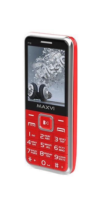 Мобильный телефон MAXVI P16 Red