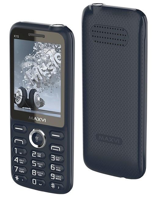 Мобильный телефон MAXVI K15 Blue