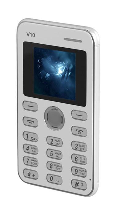 Мобильный телефон MAXVI V10 White цена и фото