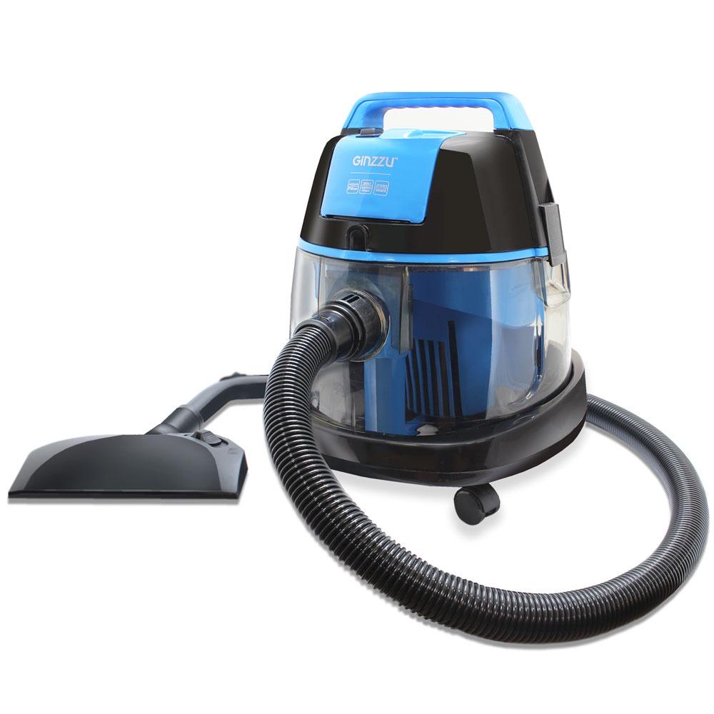 Пылесос Ginzzu VS521, пылесос филипс с аквафильтром