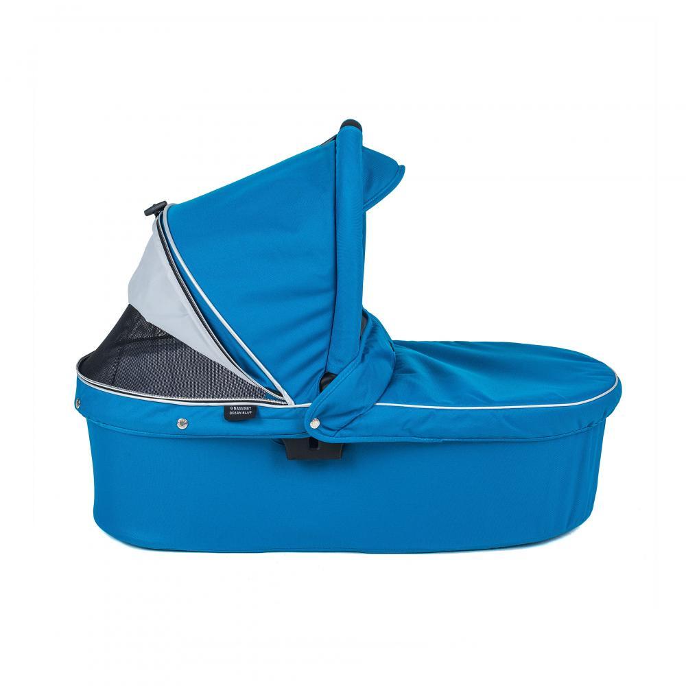 Valco baby Люлька Q Bassinet для Trimod X, Snap 4 Ultra, Quad X / Ocean Blue цена