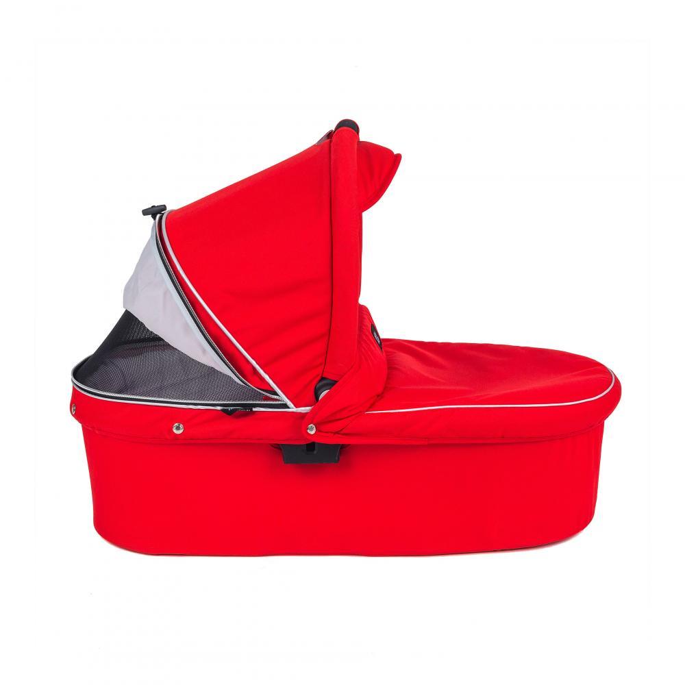 Valco baby Люлька Q Bassinet для Trimod X, Snap 4 Ultra, Quad X / Fire red цена
