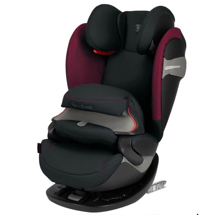 Cybex Автокресло Pallas S-Fix Ferrari Victory Black