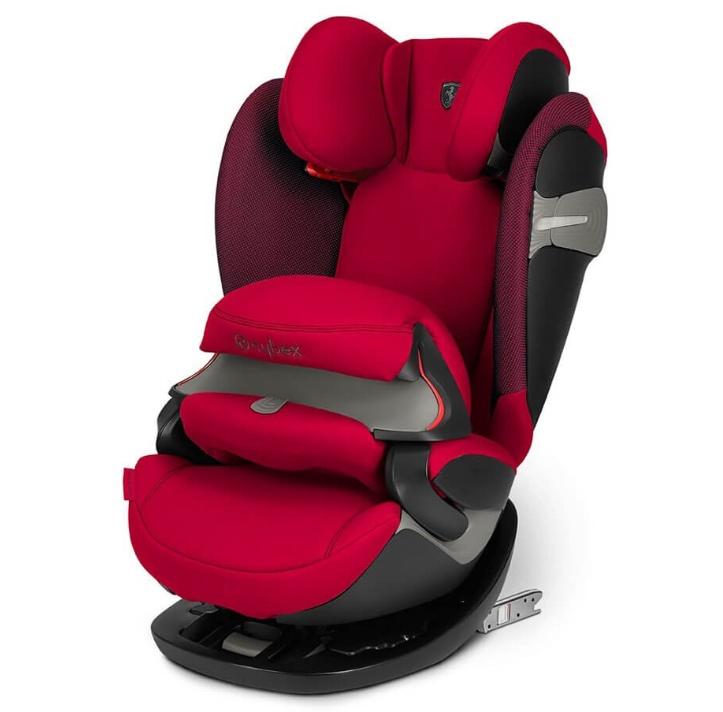 Cybex Автокресло Pallas S-Fix Ferrari Racing Red