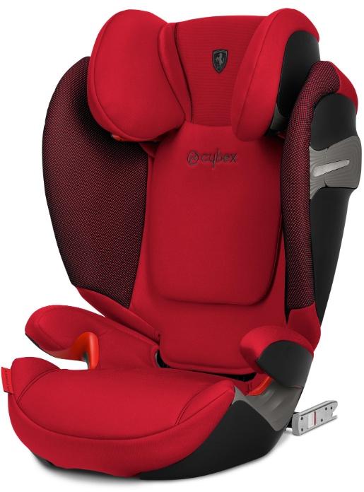 Cybex Автокресло Solution S-Fix Ferrari Racing Red