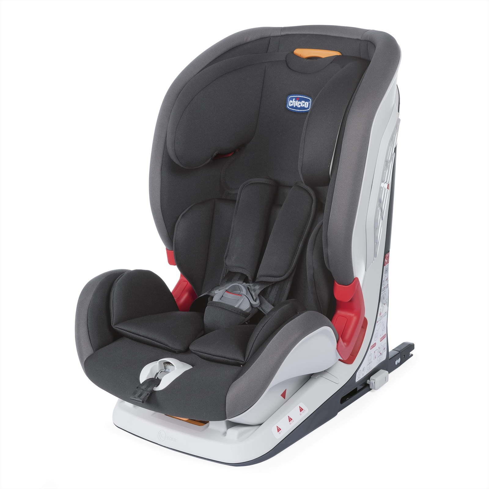 Автокресло Chicco Youniverse Fix, Jet Black автокресло chicco oasys 1 isofix fire