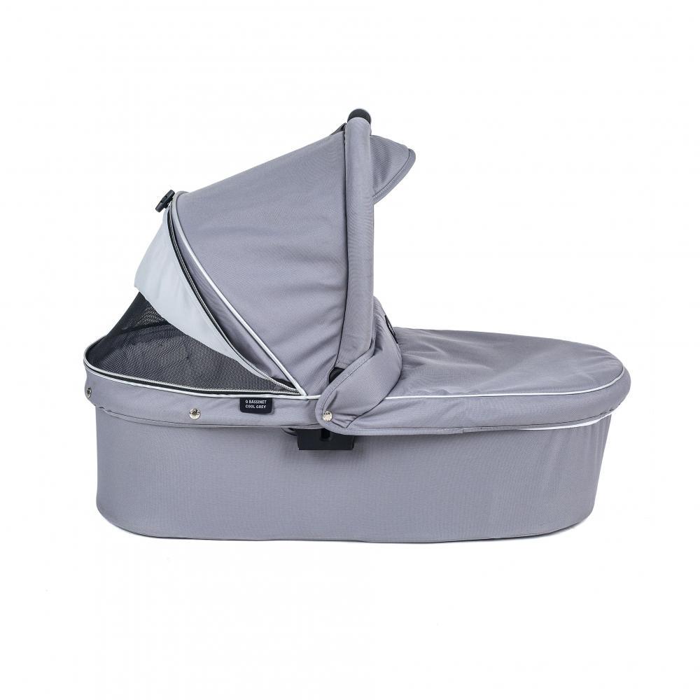Valco baby Люлька Q Bassinet для Trimod X, Snap 4 Ultra, Quad X / Cool Grey цена