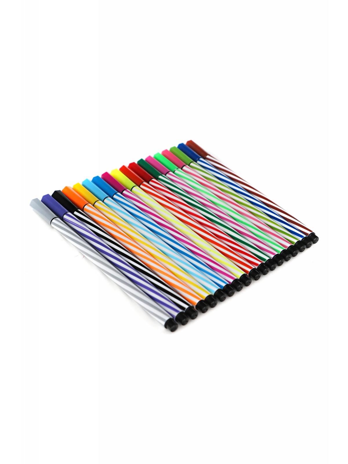 Набор цветных фломастеров 18 цветов с футляром CP006-18-22 DOLEMIKKI