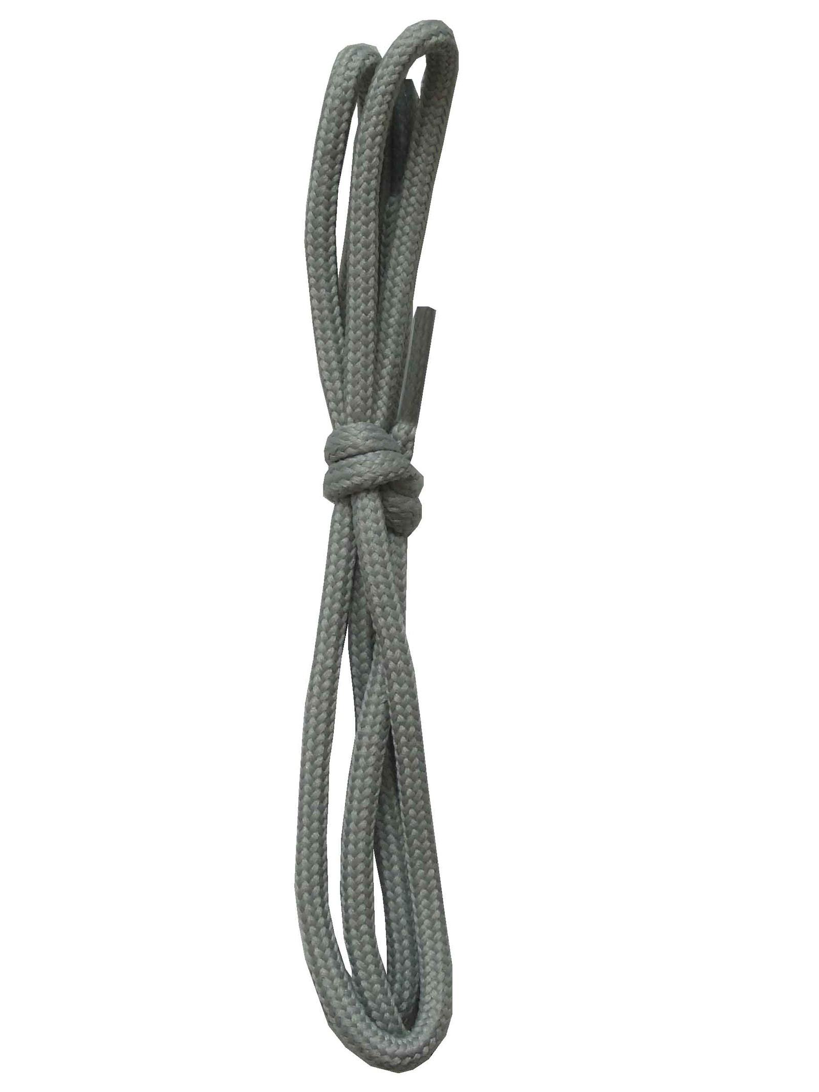 Шнурки ОРИОН 60см средние серые
