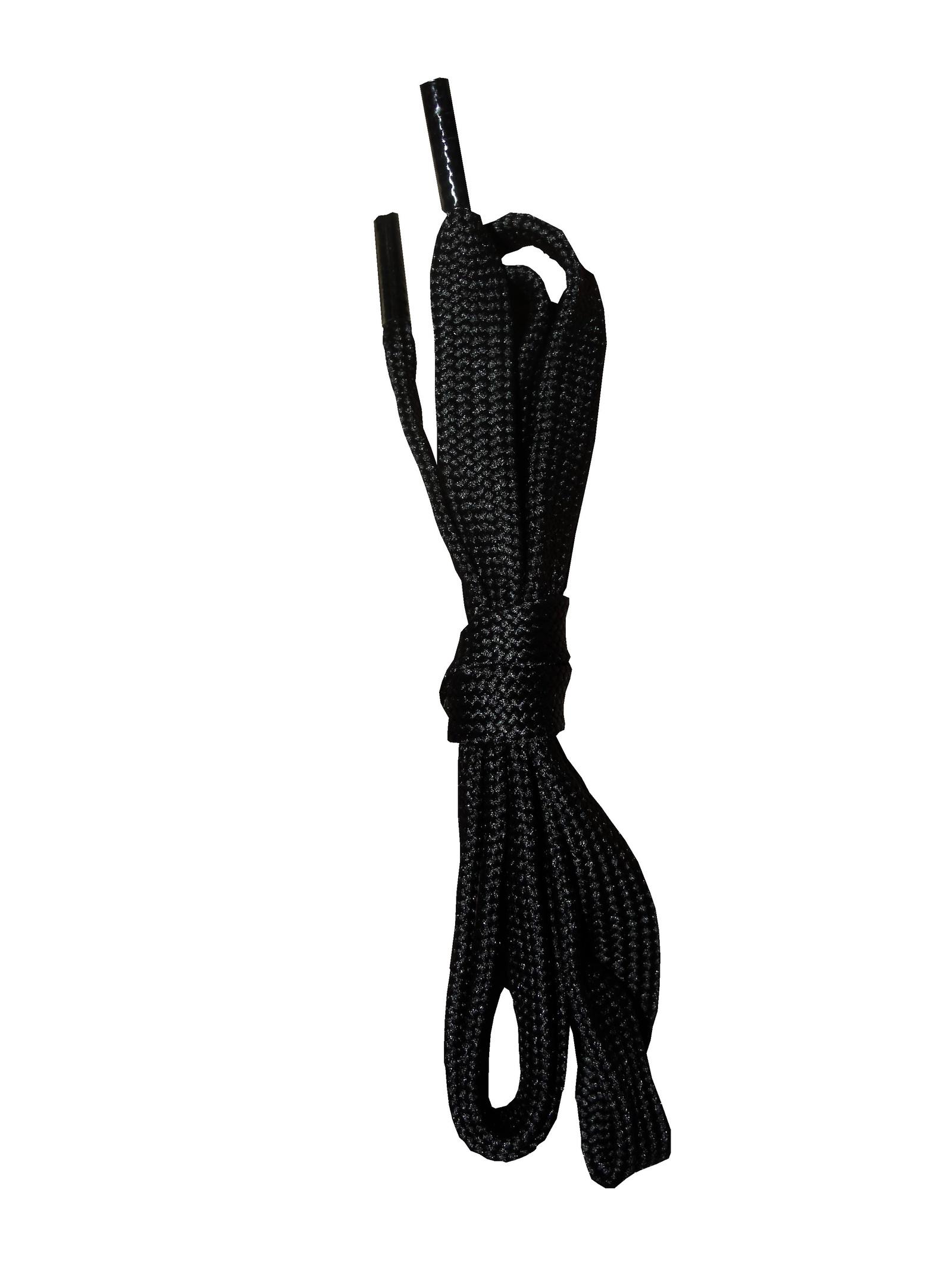 Шнурки ОРИОН 75см плоские черные