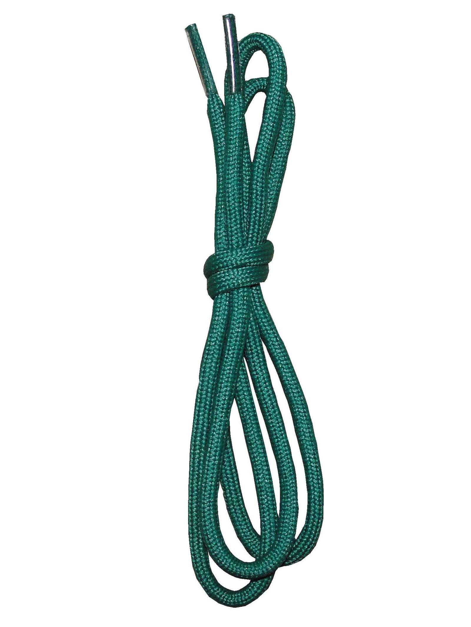 Шнурки ОРИОН 90см тонкие круглые зеленые