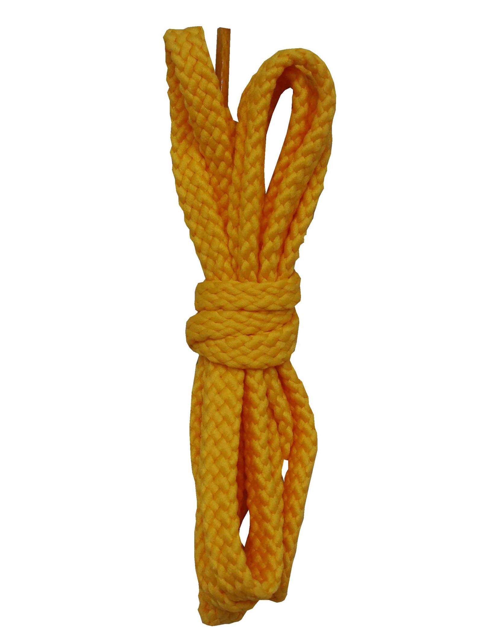 Шнурки ОРИОН 120см плоские желтые