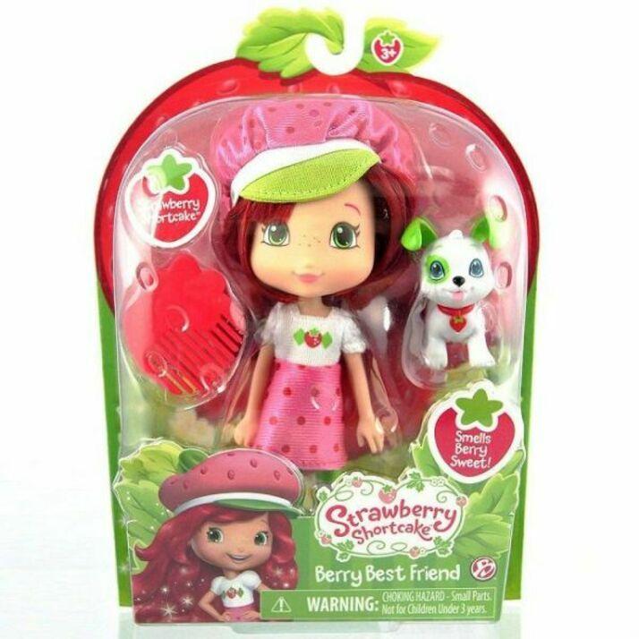 Кукла Шарлотта Земляничка 15 см с питомцем (Strawberry Shortcake 12231) the bridge кукла шарлотта земляничка