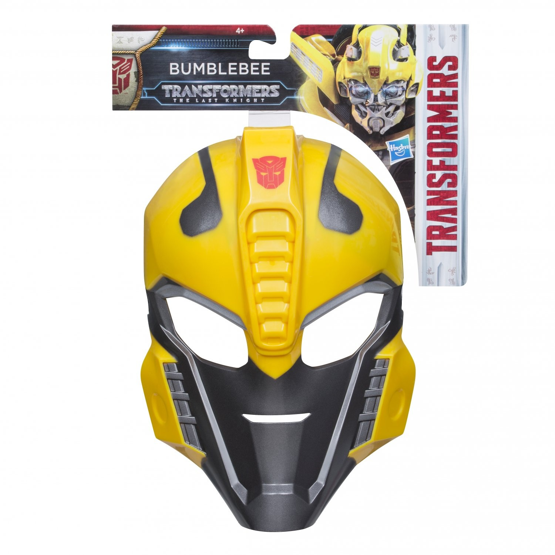 Маска Трансформеры 5: Последний рыцарь - Оптимус Прайм / Бамблби (Hasbro Transformers C0890) кружка transformers оптимус прайм 350ml 62043