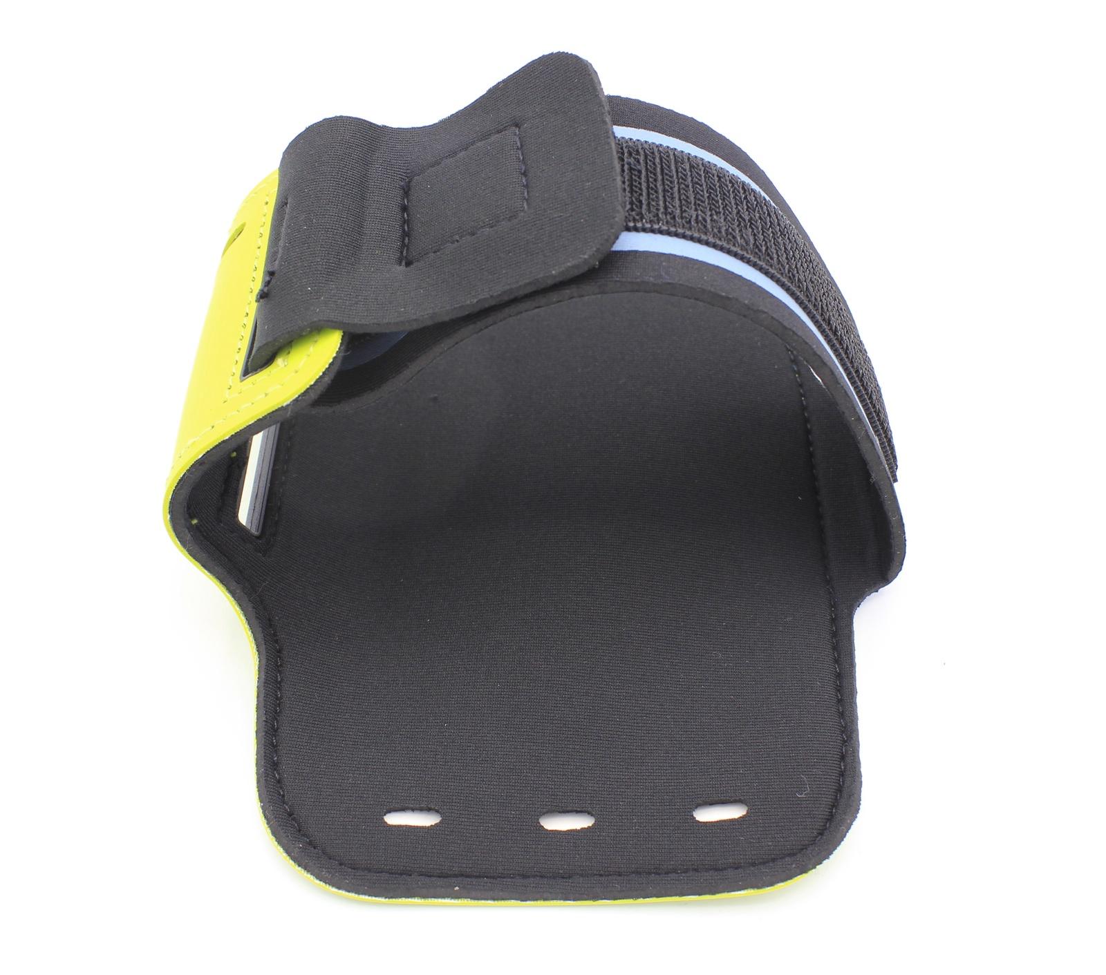 Чехол для Смартфона крепление на руку липучка, желтый водонепроницаемый чехол для смартфона на велосипеде