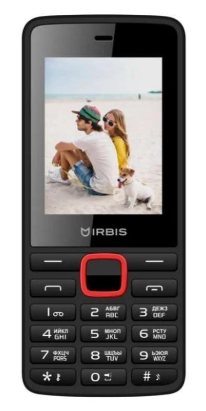 Мобильный телефон IRBIS SF19 Black-red