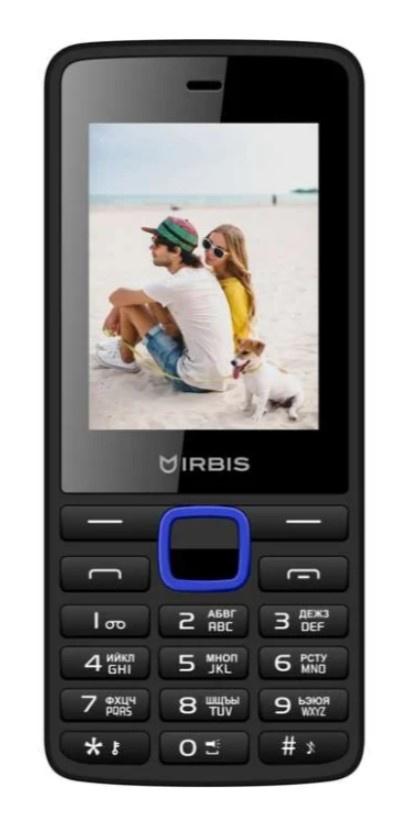 Мобильный телефон IRBIS SF19 Black-blue цена и фото