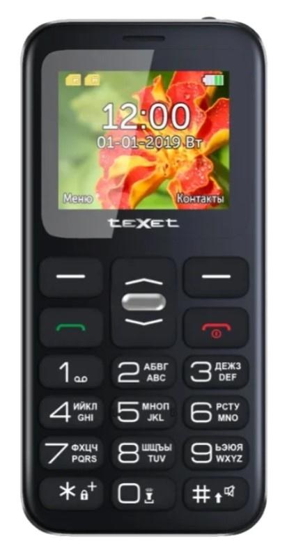 Фото - Мобильный телефон TeXet TM-B209 Black мобильный телефон texet tm 204 dual sim red