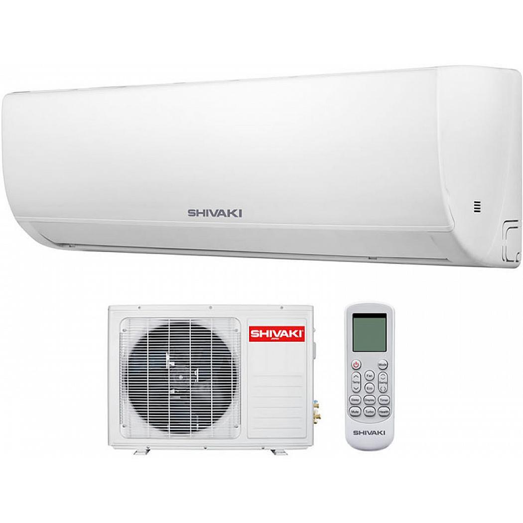 Сплит-система Shivaki LUX SSH-L099BE/SRH-L099BE, белый