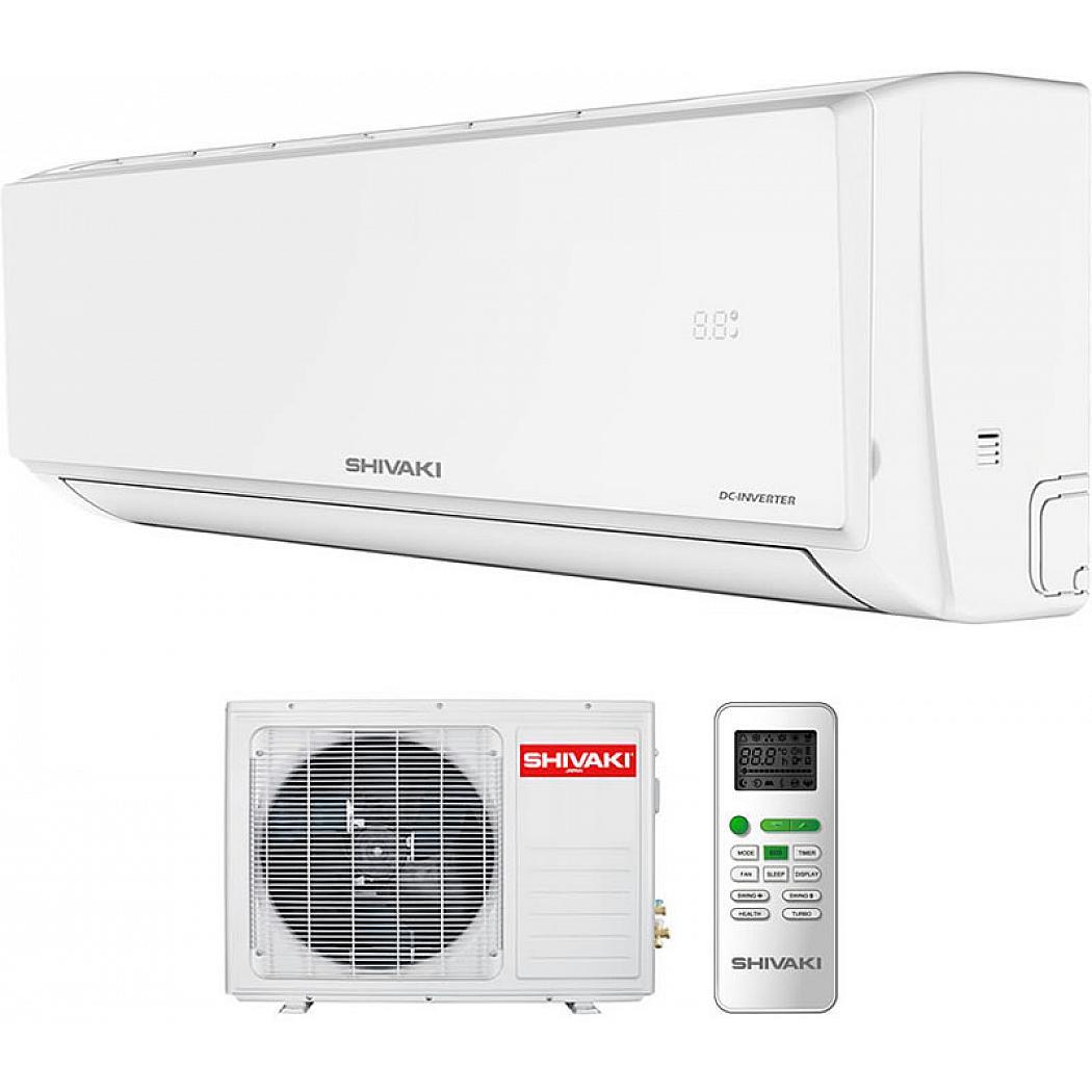 Сплит-система Shivaki Prestige SSH-P079DC/SRH-P079DC, белый