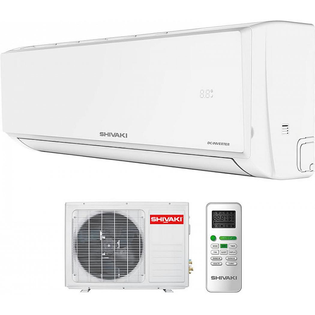 Сплит-система Shivaki Prestige SSH-P129DC/SRH-P129DC, белый