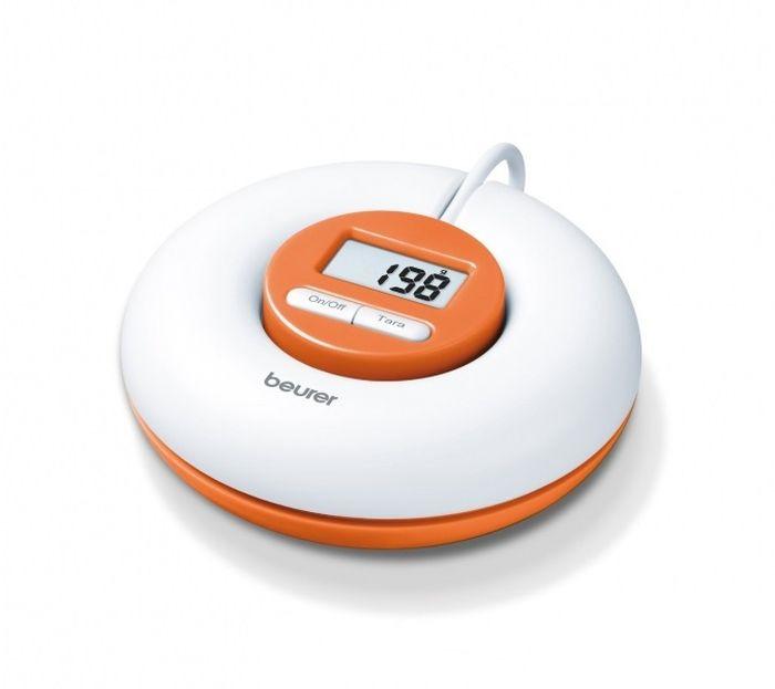Весы кухонные электронные Beurer КS21, белый, оранжевый