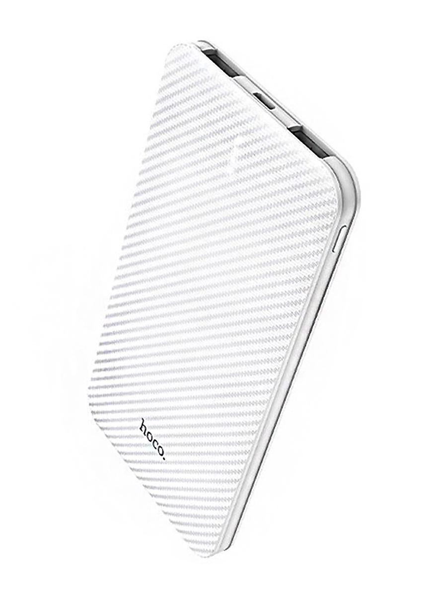 Внешний аккумулятор 5000 mAh, B37, белый внешний аккумулятор hoco 5200 mah серый