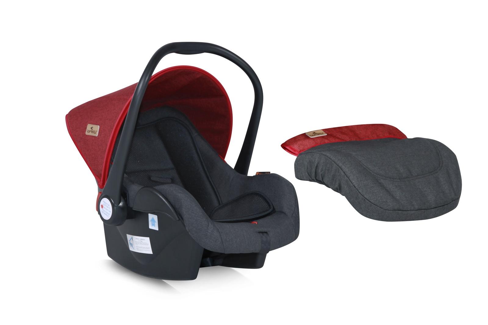 Автокресло Lorelli LB321 Lifesaver 0-13 кг цвет Красно-черный, Red-Black автокресло lorelli lifesaver 0 13 кг бежевый beige 1750