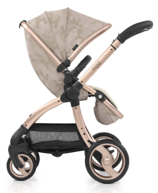 Egg Коляска прогулочная Camo Sand & Gold Mirror Chassis прогулочный блок для второго ребенка egg tandem seat petrol blue
