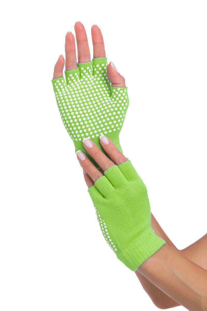 цена Перчатки противоскользящие для занятий йогой онлайн в 2017 году