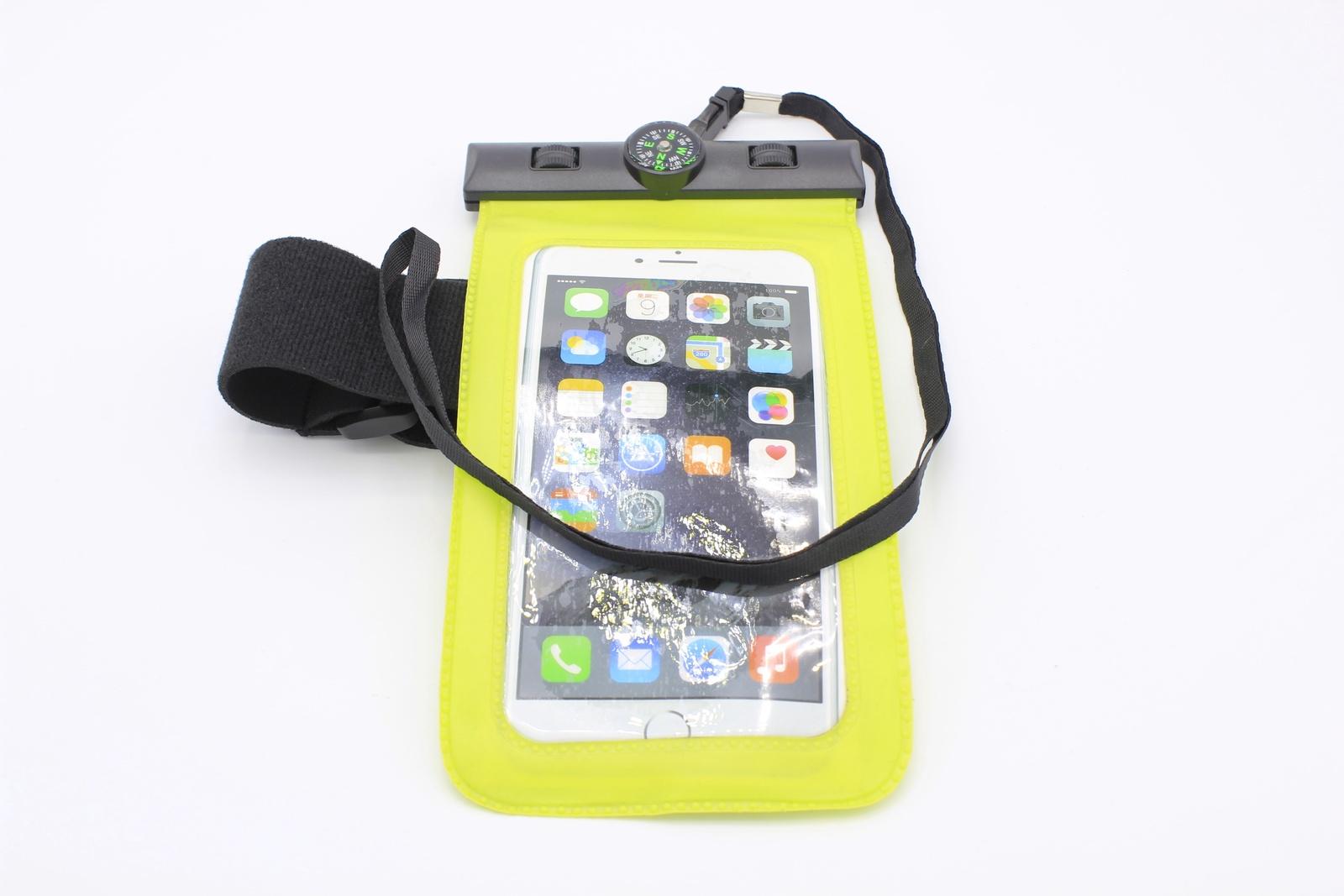 Водонепроницаемый чехол для телефона универсальный с компасом, желтый водонепроницаемый чехол для телефона спб