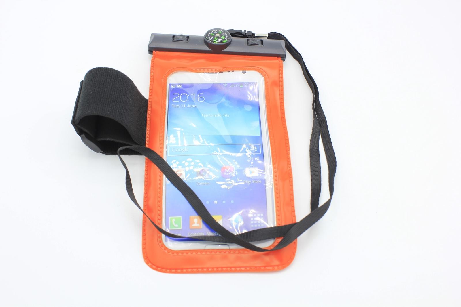 Водонепроницаемый чехол для телефона универсальный с компасом, красный водонепроницаемый чехол для телефона спб