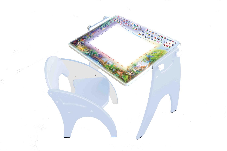 Набор детской мебели ТРАНСФОРМЕР Голубой День-Ночь набор детской мебели интехпроект трансформер розовый