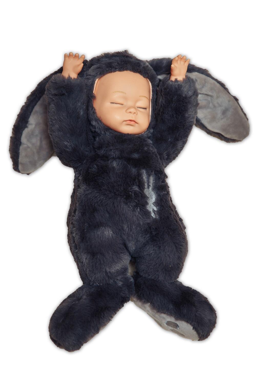 Кукла спящий зайка.