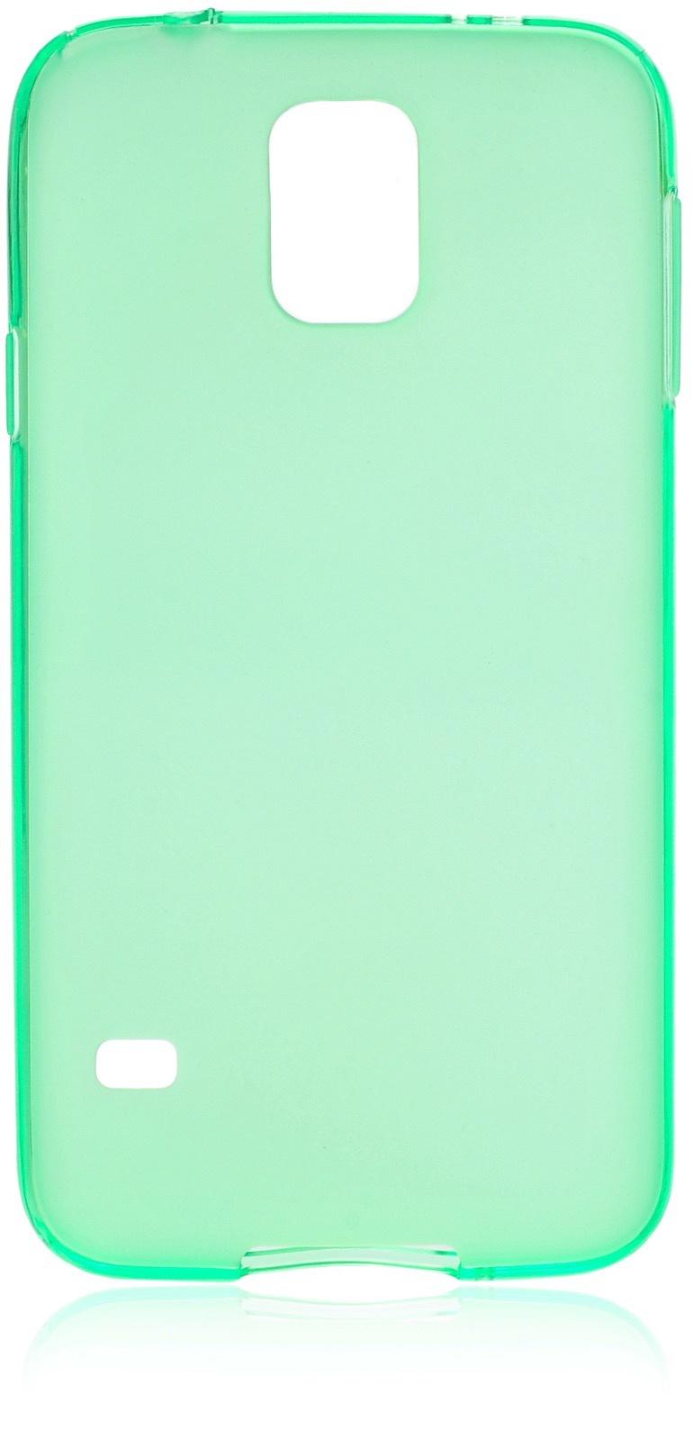 Чехол накладка iNeez силикон матовый 530037 для Samsung Galaxy S5,530037,зеленый