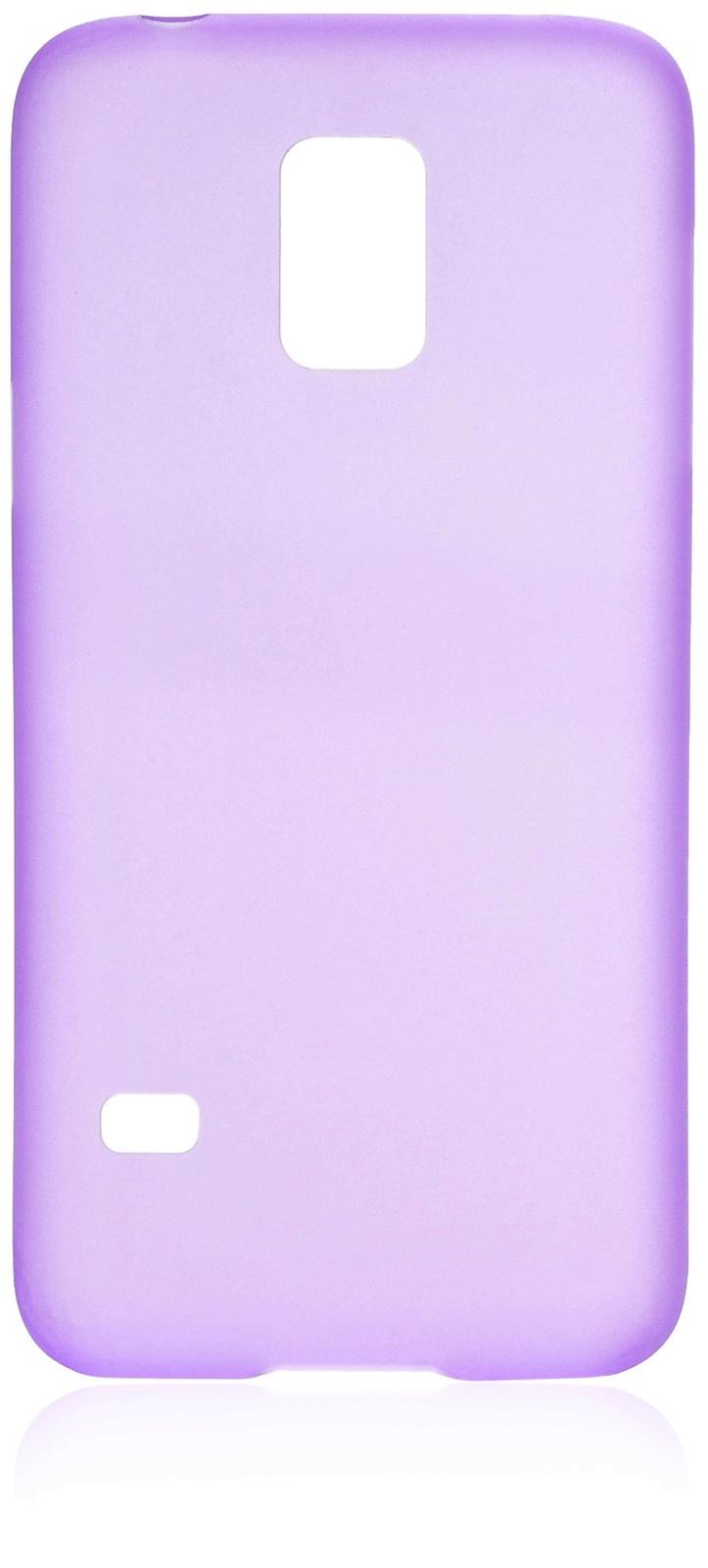 Чехол накладка iNeez пластик 0.3 мм 570007 для Samsung Galaxy S5 mini,570007, фиолетовый
