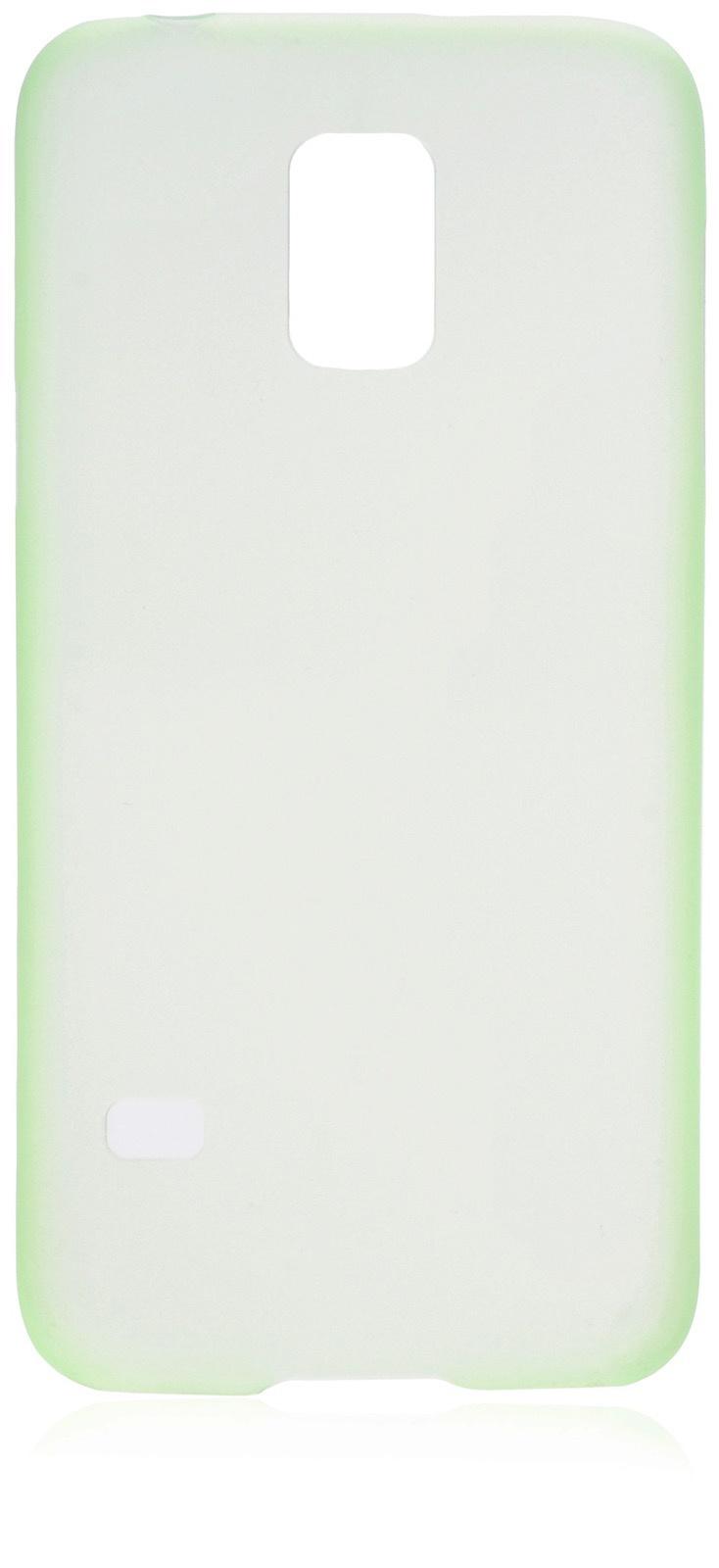 Чехол накладка iNeez пластик 0.3 мм 570005 для Samsung Galaxy S5 mini,570005, зеленый